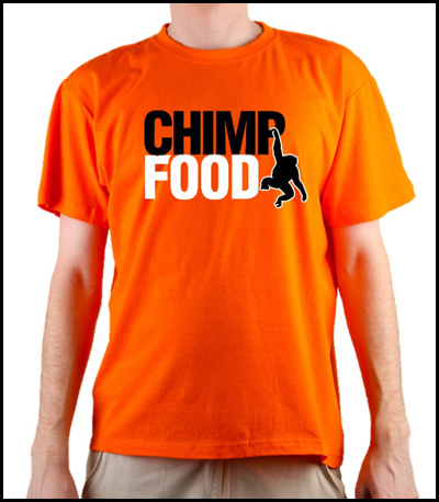 Chimp Food T-Shirt