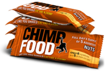 The Chimp Diet Nut Bars